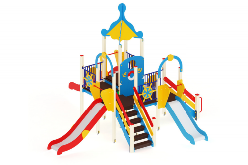 Детский игровой комплекс «Морской» H=900, 1200, 1500
