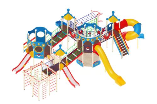 Детский игровой комплекс «Морской» H=1200, 2000