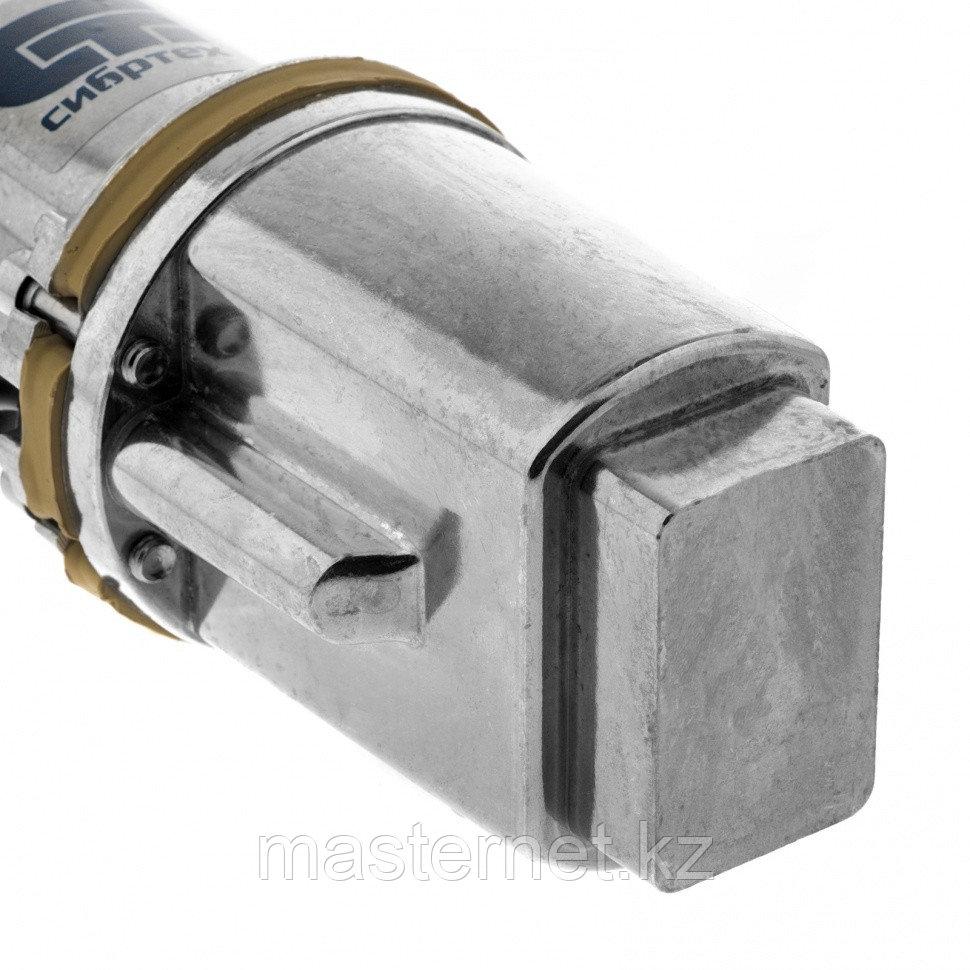 Вибрационный насос СВН300-15, верхний забор, 300 Вт, напор 75 м, 1200 л/ч, кабель 15 м// Сибртех - фото 5