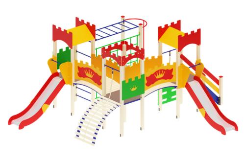 Детский игровой комплекс Замок H=1200