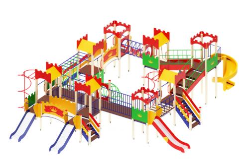 Детский игровой комплекс Замок H=900, 1200, 2000