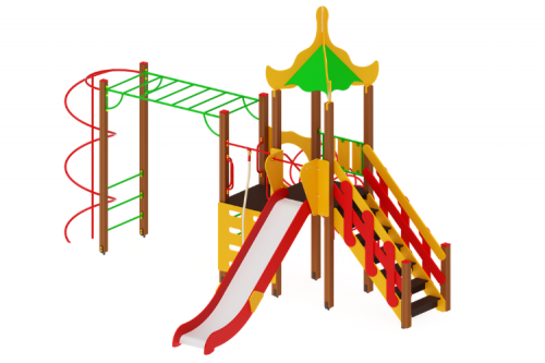 Детский игровой комплекс «Азия» H=1500