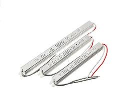 Блок питания 18W(1.5A) для светодиодной ленты (узкий) DC12V, IP20