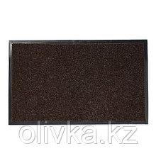 Коврик влаговпитывающий «Лофт», 50×80 см, цвет коричневый