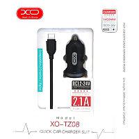 XO-TZ08 V8 2.4A авто зу
