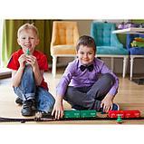 Железная дорога «Скорый поезд», длина пути 320 см, световые и звуковые эффекты, работает от батареек, фото 7
