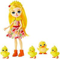 Уточки Enchantimals - Dinah Duck, Slosh, Corn, Butter & Banana!