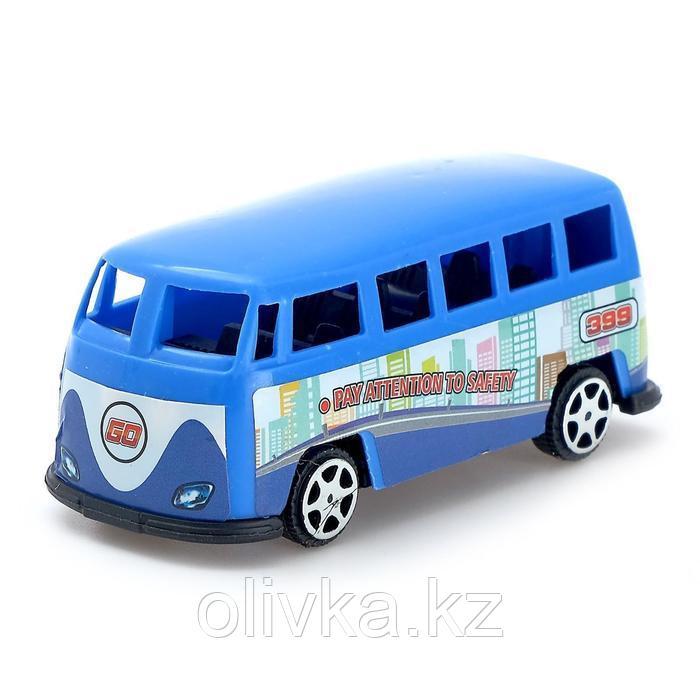 Машина инерционная «Микроавтобус», МИКС