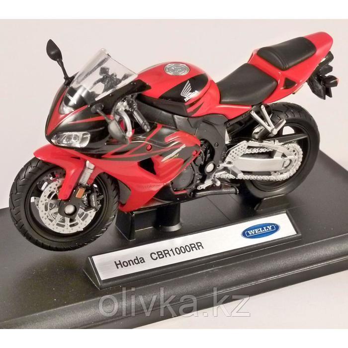 Коллекционная модель мотоцикла Honda CBR1000RR, масштаб 1:18 - фото 1