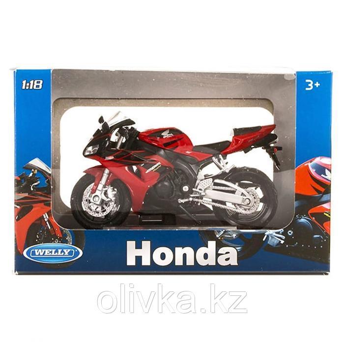 Коллекционная модель мотоцикла Honda CBR1000RR, масштаб 1:18 - фото 2