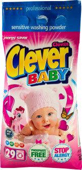 Порошок для стирки детского белья Clever Baby 2.2 кг, фото 2