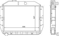 131-1301010-13 Радиатор ЗиЛ-130,131 3-рядн.