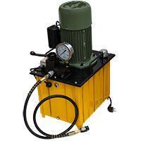 Маслостанция МГС 700-2.2-Р-1 (220В) С ручным управлением, без педали Однопоточная, 70 МПа Расход 2.2 л/мин, ба