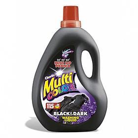 Стиральный порошок для темных и черных вещей Multi color Black & Dark 4 л.