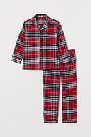 Пижама мужская фланель, 100% хлопок