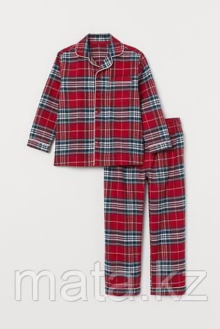 Пижама мужская фланель, 100% хлопок, фото 2