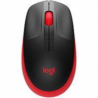 Мышь беспроводная полноразмерная Logitech M190 Red (910-005908) -