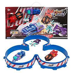 Клэш оф Гирс 38317 Игровой набор Большая Ультимэйт арена с 3 машинами