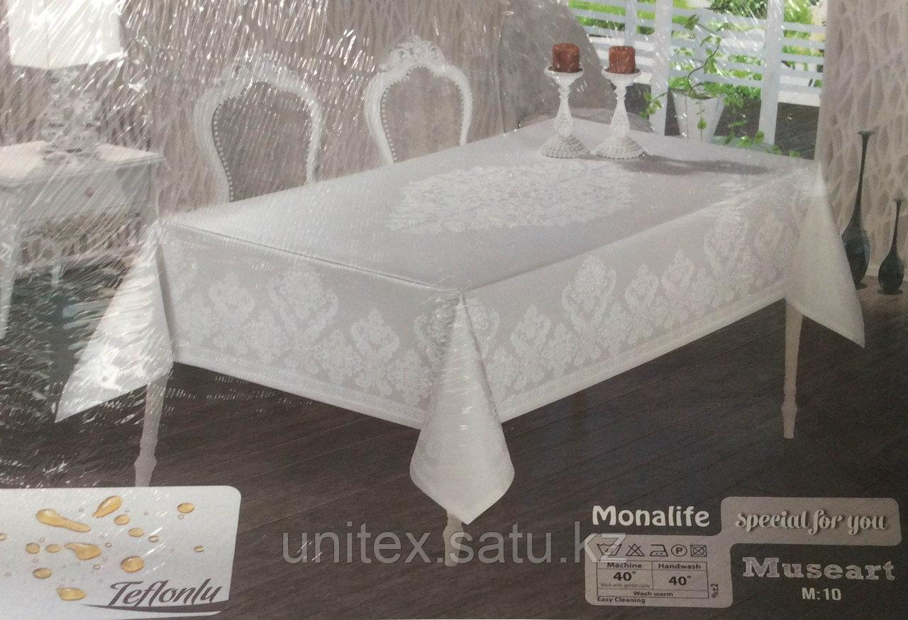 Тефлоновая скатерть Monalife 160×350 см - фото 2