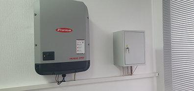10,3 кВт солнечная сетевая станция в Политехническом колледже г. Караганды 9