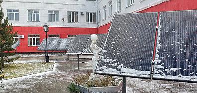10,3 кВт солнечная сетевая станция в Политехническом колледже г. Караганды 1