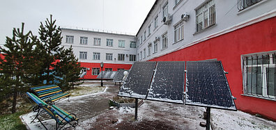 10,3 кВт солнечная сетевая станция в Политехническом колледже г. Караганды 3
