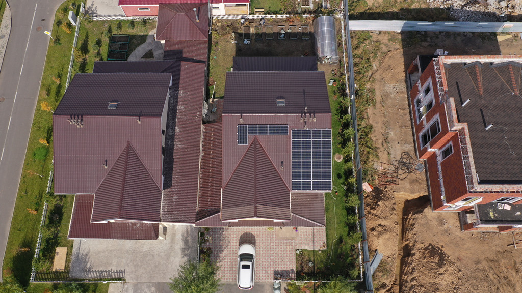 6,3 кВт сетевая солнечная станция, г. Нур-Султан