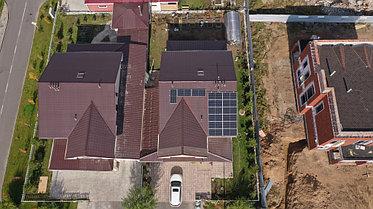6,3 кВт сетевая солнечная станция, г. Нур-Султан 1