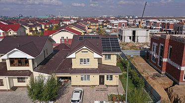 6,3 кВт сетевая солнечная станция, г. Нур-Султан 2