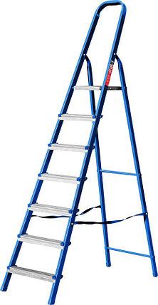 Лестница-стремянка стальная MIRAX, число ступеней 7 (38800-07), фото 2