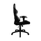 Игровое компьютерное кресло, Aerocool, AC100 AIR B,  Искусственная кожа PU AIR, (Ш)53*(Г)54*(В)121 (