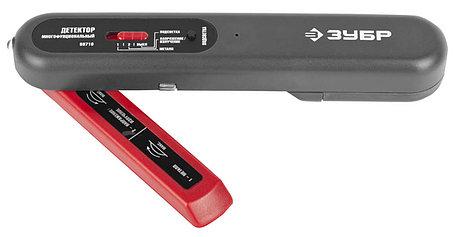 Тестер многофункциональный ЗУБР, 6-36 В, металл 50 мм, проводка под напряжением 50 мм (59710), фото 2