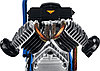 Компрессор воздушн. ЗУБР 2200 Вт, 400 л/мин, 50 л, (КПМ-400-50), фото 2
