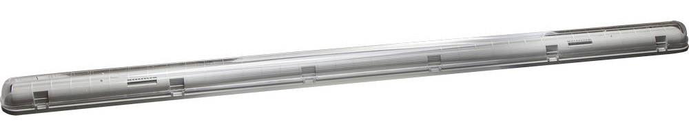 Светильник для люминесцентных ламп СВЕТОЗАР, 1х58 Вт, IP65, пылевлагозащищенный (57610-1-58)