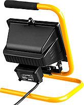 Прожектор галогенный STAYER, 500 Вт, MAXLight, переносной с подставкой, черный (57116-B), фото 2