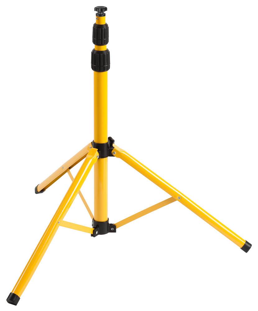 Штатив переносной СВЕТОЗАР, 65-160 см, желтый/черный (56920)