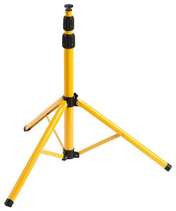 Штатив переносной СВЕТОЗАР, 65-160 см, желтый/черный (56920), фото 2