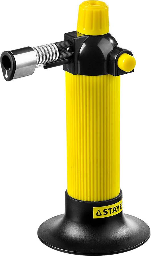 Газовая кассетная горелка Maxterm, STAYER, 1300°C, пьезоподжиг (55570)