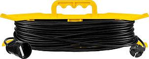 Удлинитель электрический силовой STAYER 30 м, 2200 Вт, 1 гнездо (55018-30_z01), фото 2