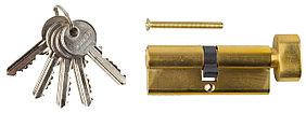Механизм цилиндровый, ЗУБР, 80 мм, 5-PIN, 5 шт., тип ключ-защелка (52103-80-1)