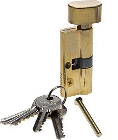 Механизм цилиндровый, ЗУБР, 70 мм, 5-PIN, 5 шт., тип ключ-защелка (52103-70-1)