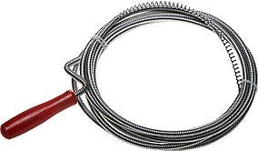 Трос сантехнический ЗУБР 3 м, 6 мм, пластиковая ручка (51902-03)