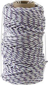 Фал плетёный полипропиленовый с сердечником, СИБИН, 100 м, 6 мм, 16-прядный, 320 кгс (50215-06)