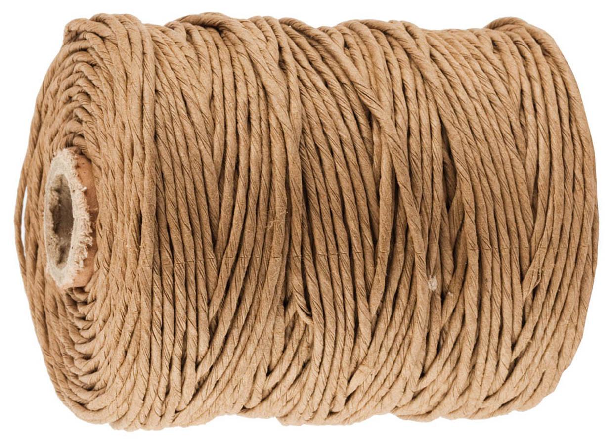 Шпагат упаковочный бумажный, STAYER, 500 м, коричневый (50130-500)