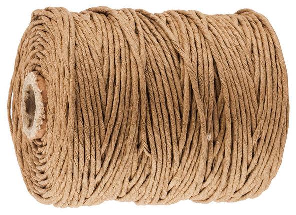 Шпагат упаковочный бумажный, STAYER, 500 м, коричневый (50130-500), фото 2