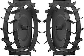 Грунтозацепы для мотоблоков, ЗУБР, 460 х 160 мм, набор 2 шт. (ГР-460)