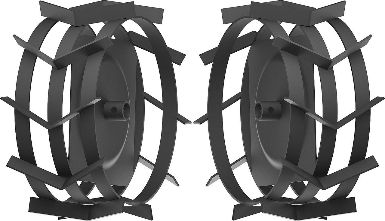 Грунтозацепы для мотоблоков, ЗУБР, 425 х 200 мм, набор 2 шт. (ГР-425)