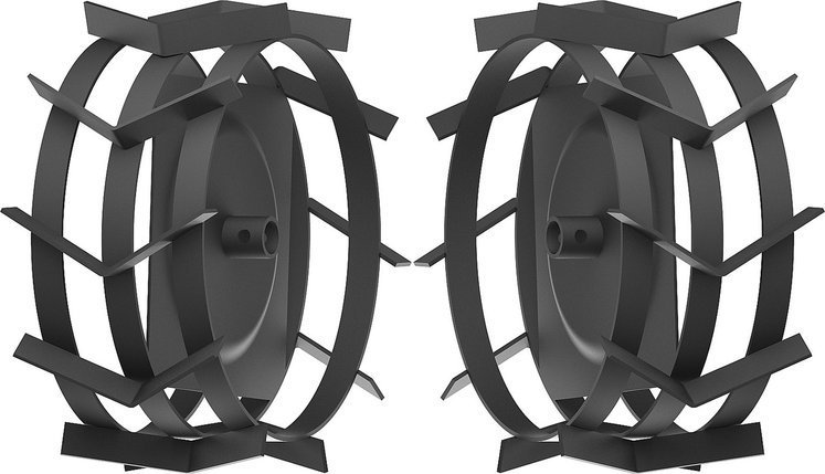 Грунтозацепы для мотоблоков, ЗУБР, 425 х 200 мм, набор 2 шт. (ГР-425), фото 2