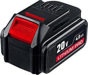 "Аккумуляторная батарея тип Т7, ЗУБР, Li-Ion PRO, 4.0 Ач, 18 В, серия ""Профессионал"" (S-18-4 T7)"