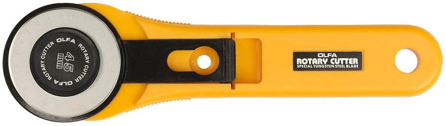 Нож с круговым лезвием OLFA 45 мм (OL-RTY-2/G), фото 2